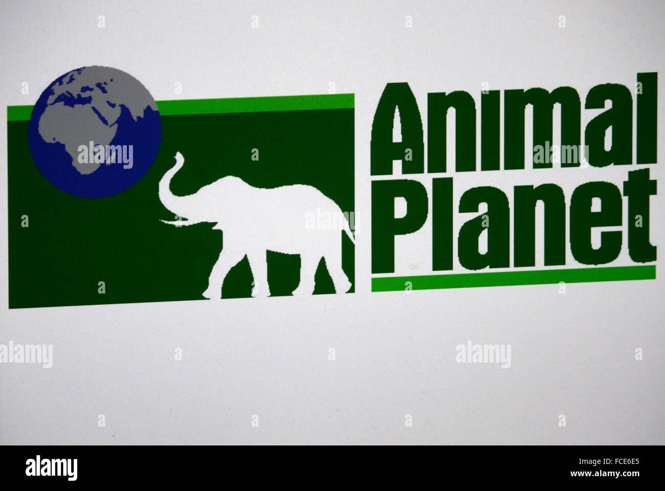 "Markenname: ""Animal Planet"", Berlin. Photo Stock"