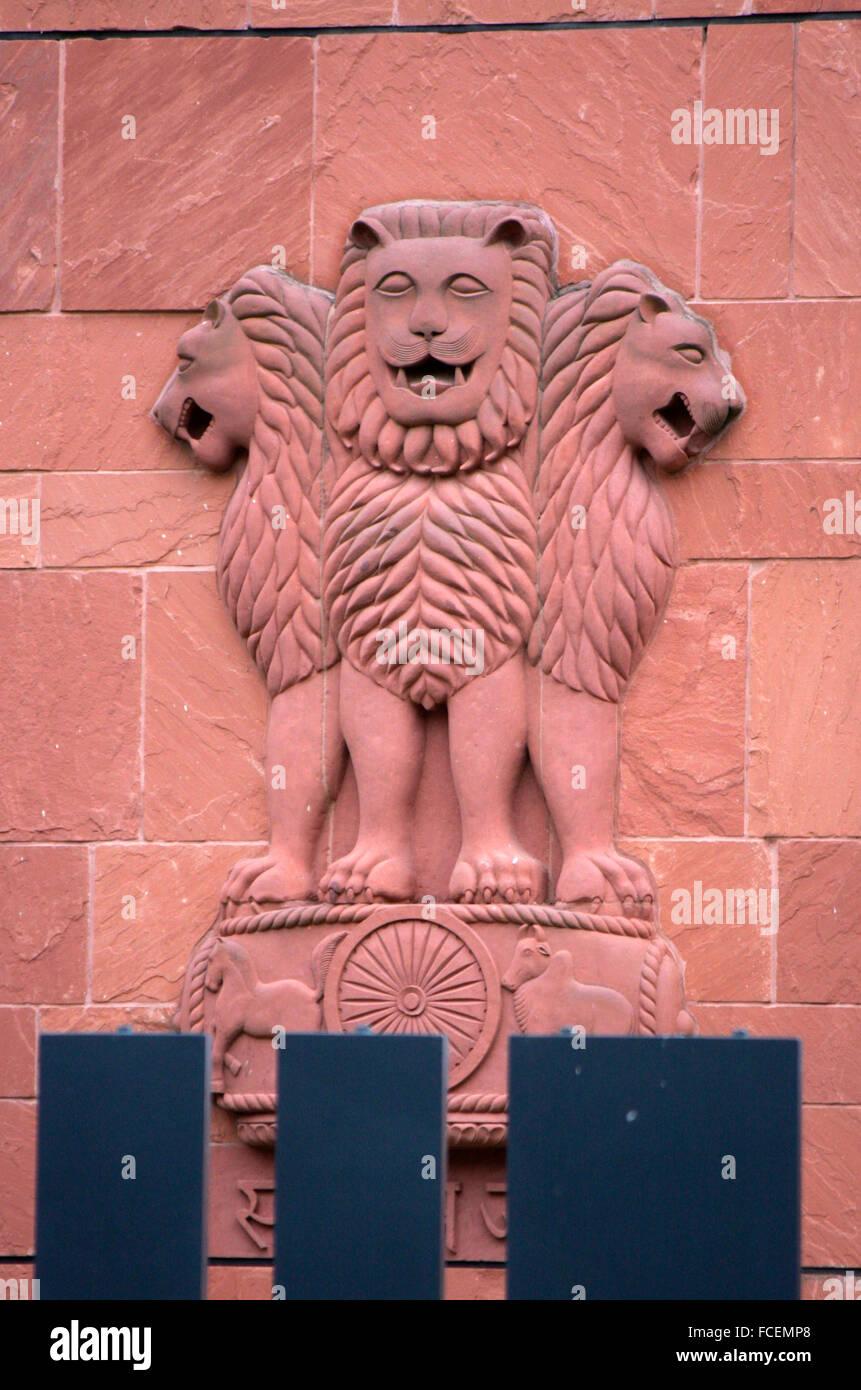 Indische Botschaft, Berlin-Tiergarten. Photo Stock