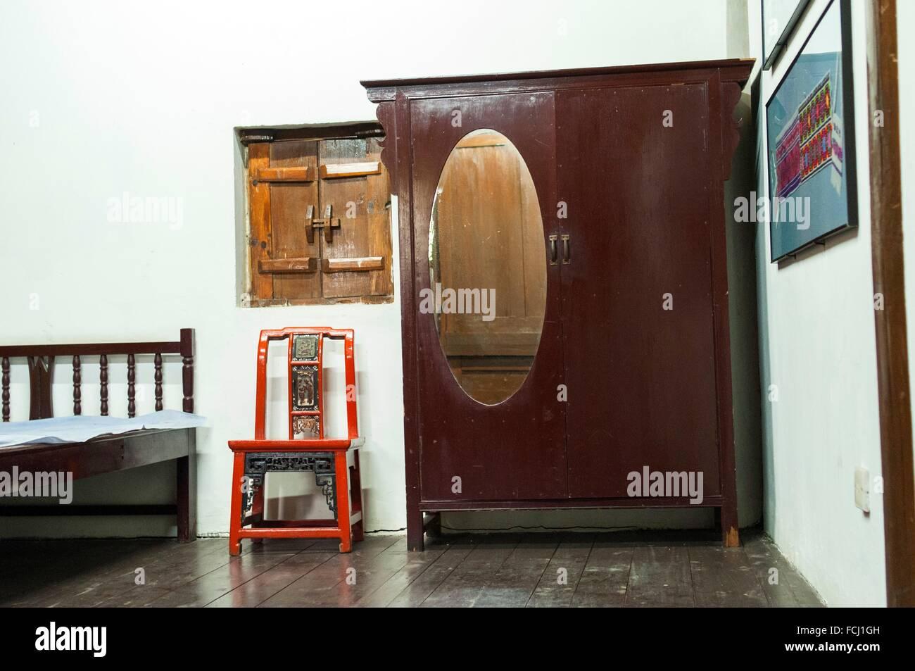 La chambre chinoise ancienne Banque D\'Images, Photo Stock: 93824097 ...