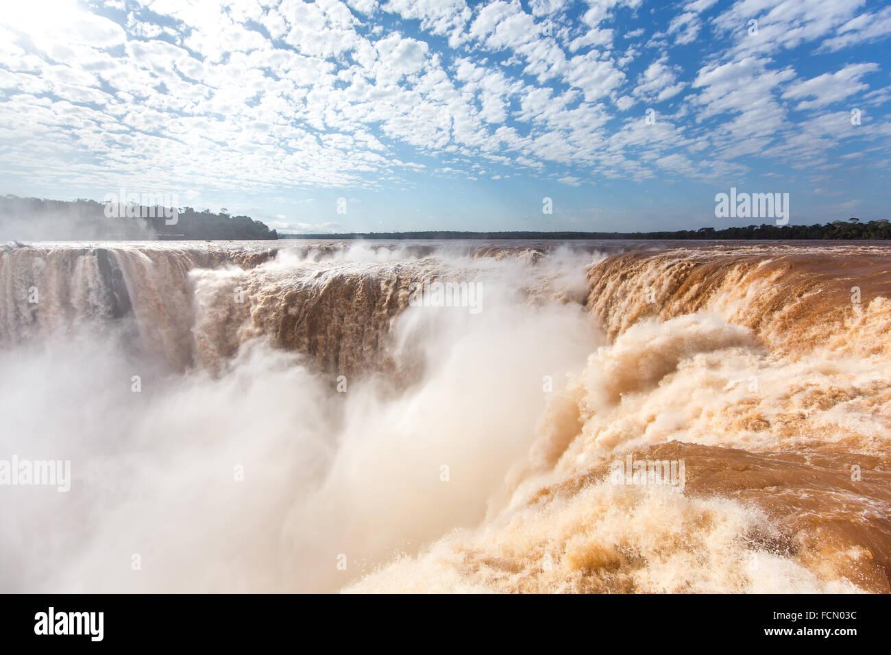 Chutes d'Iguaçu, l'Amérique du Sud Banque D'Images