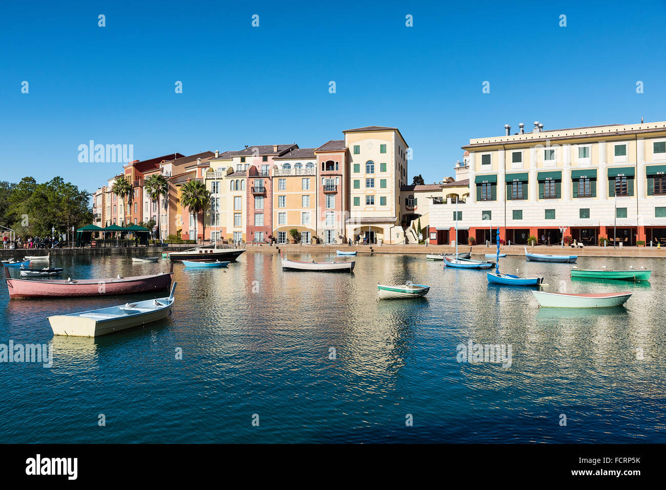 Loews Portofino Bay Hotel at Universal Orlando, Orlando, Floride, USA Photo Stock