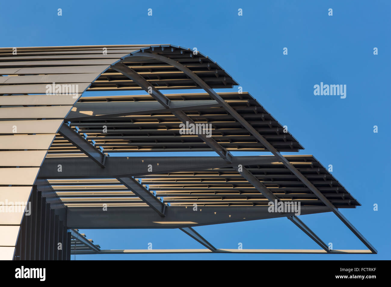 Francis Crick Institute de Midland Road, St Pancras, Londres conçu par les architectes HOK avec PLP Architecture. Photo Stock