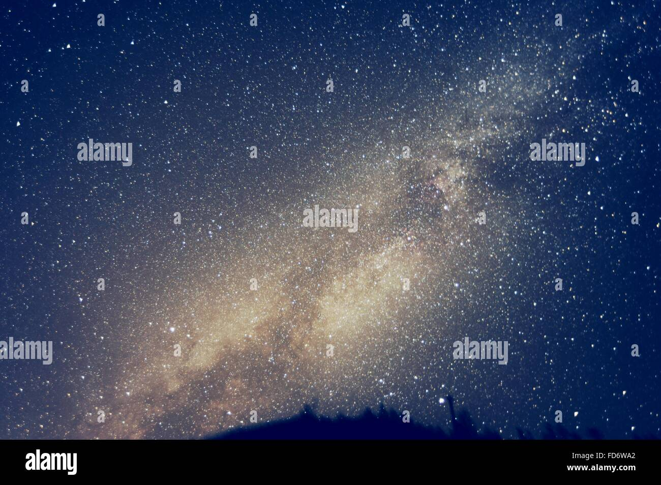 Low Angle View of Stars In Sky Photo Stock