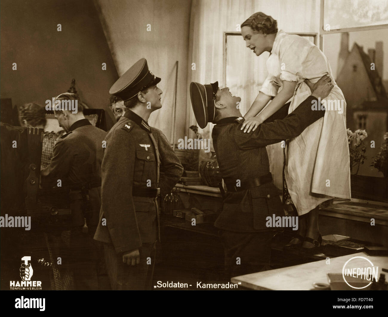 "Scène de camarades ""soldat"", 1936 Photo Stock"