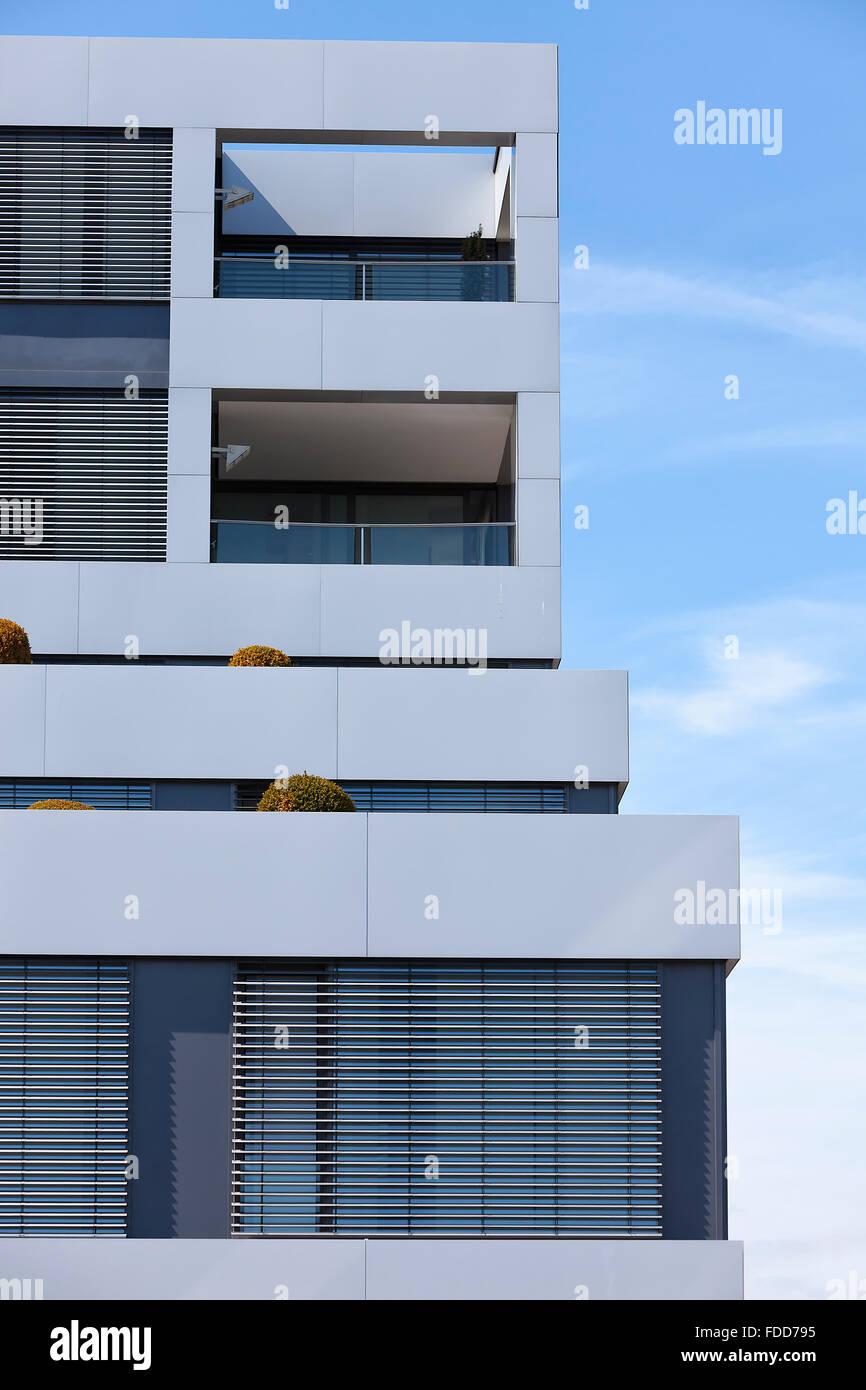 Appartements neufs Banque D'Images