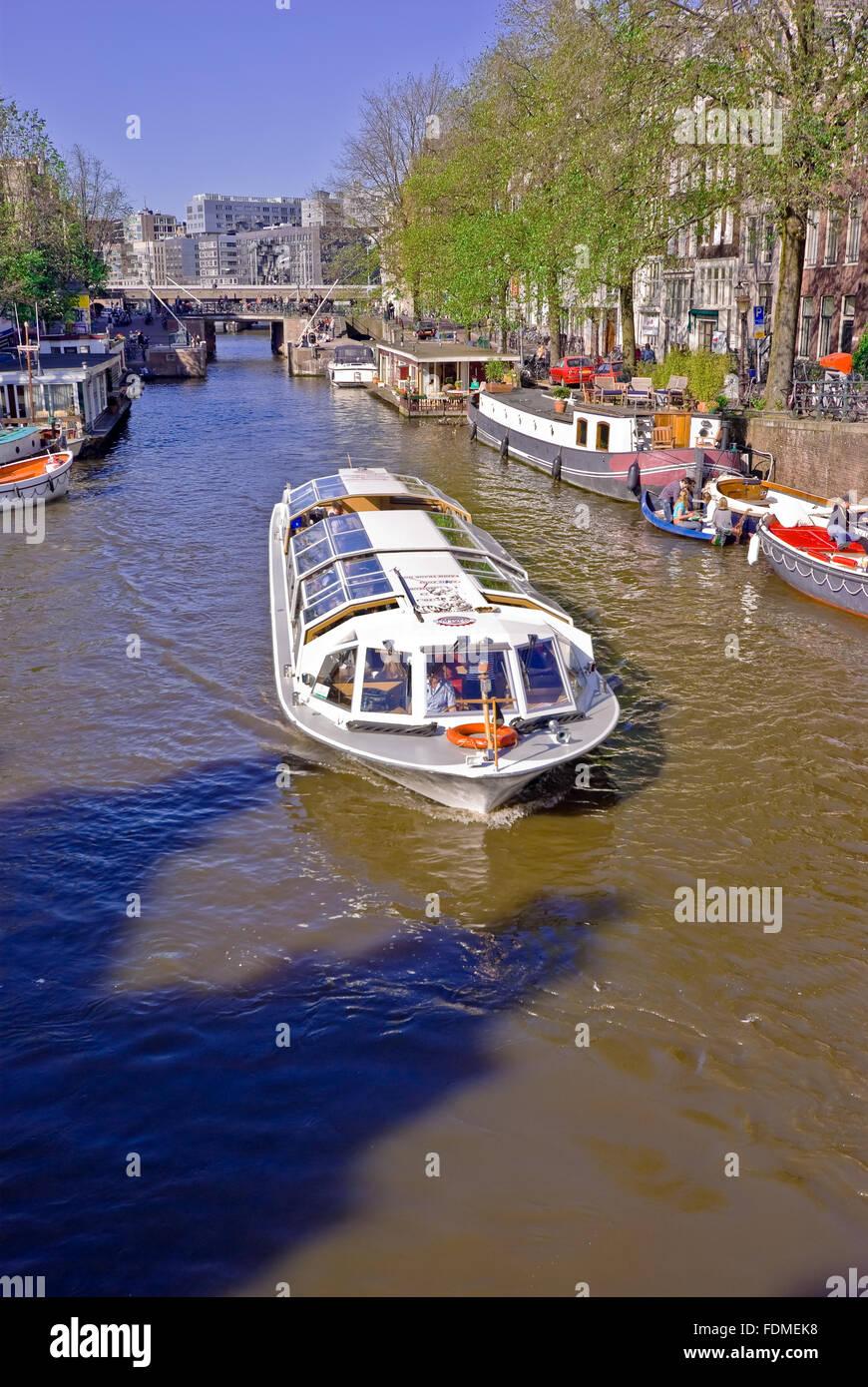 Excursion en bateau,gracht Banque D'Images