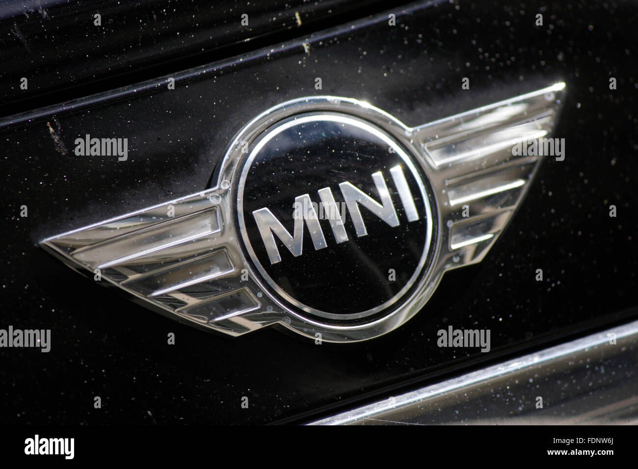Markenname: 'Mini', Berlin. Photo Stock
