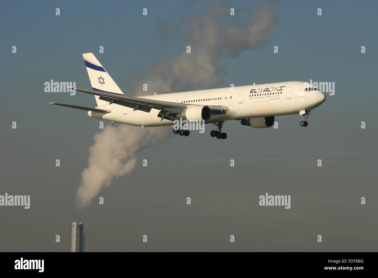 Plan de la POLLUTION C02 Photo Stock