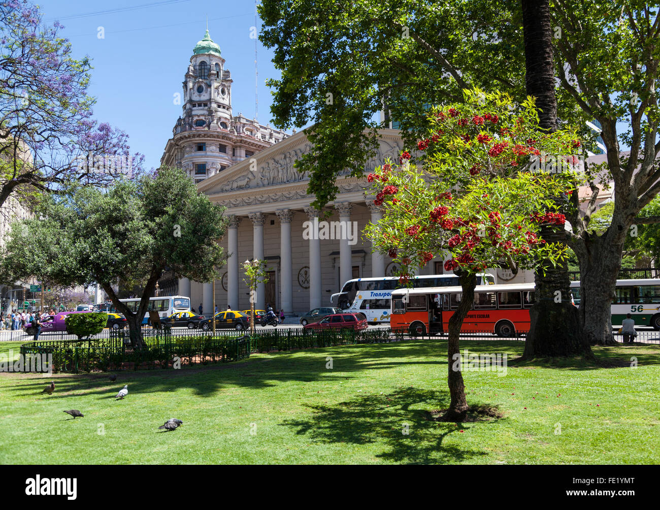 La Cathédrale Métropolitaine de Buenos Aires, Argentine Photo Stock