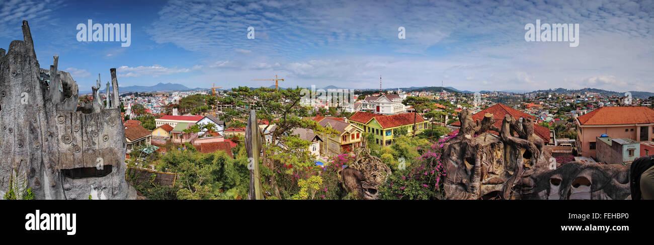 """Hang Nga guesthouse, également connu sous le nom de """"Crazy House"""" Photo Stock"""