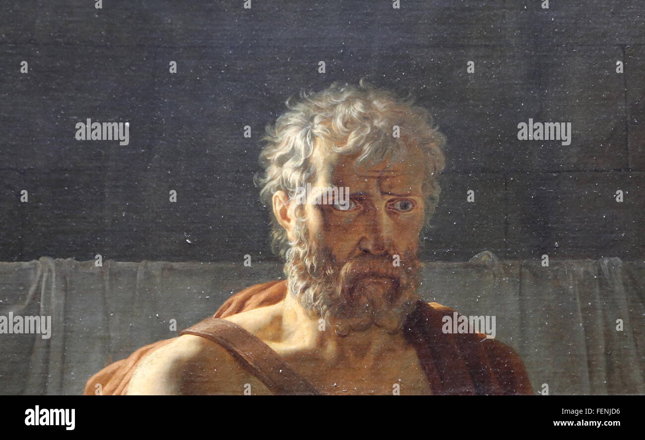 Le retour de Marcus Sextus, 1799. Par Pierre-Narcisse Guérin (1774-1833). Néoclassicisme. Huile sur toile. Photo Stock