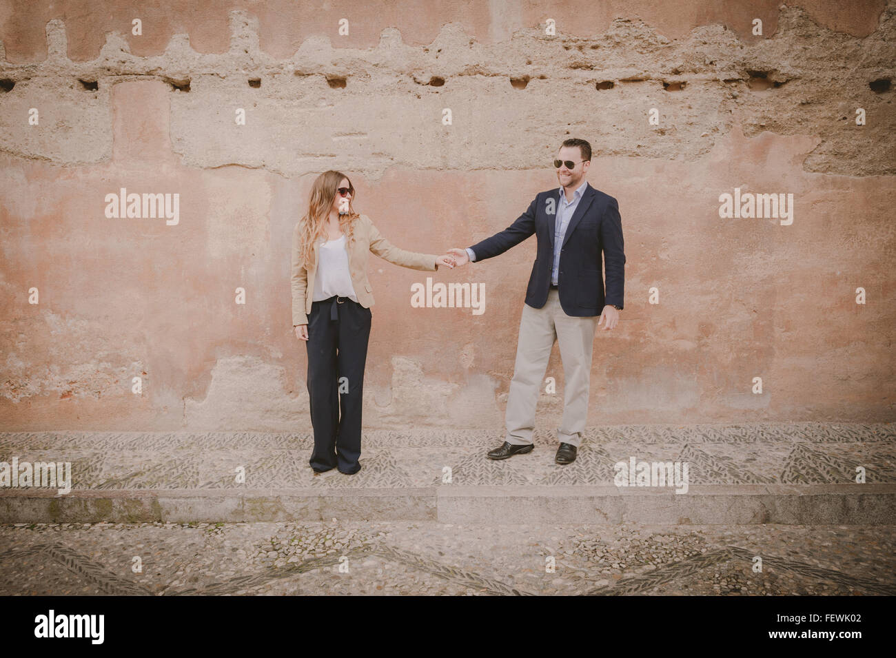Couple Holding Hands Photo Stock