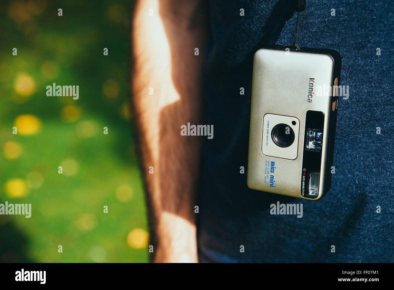 Konica Big Mini Camera Banque D'Images