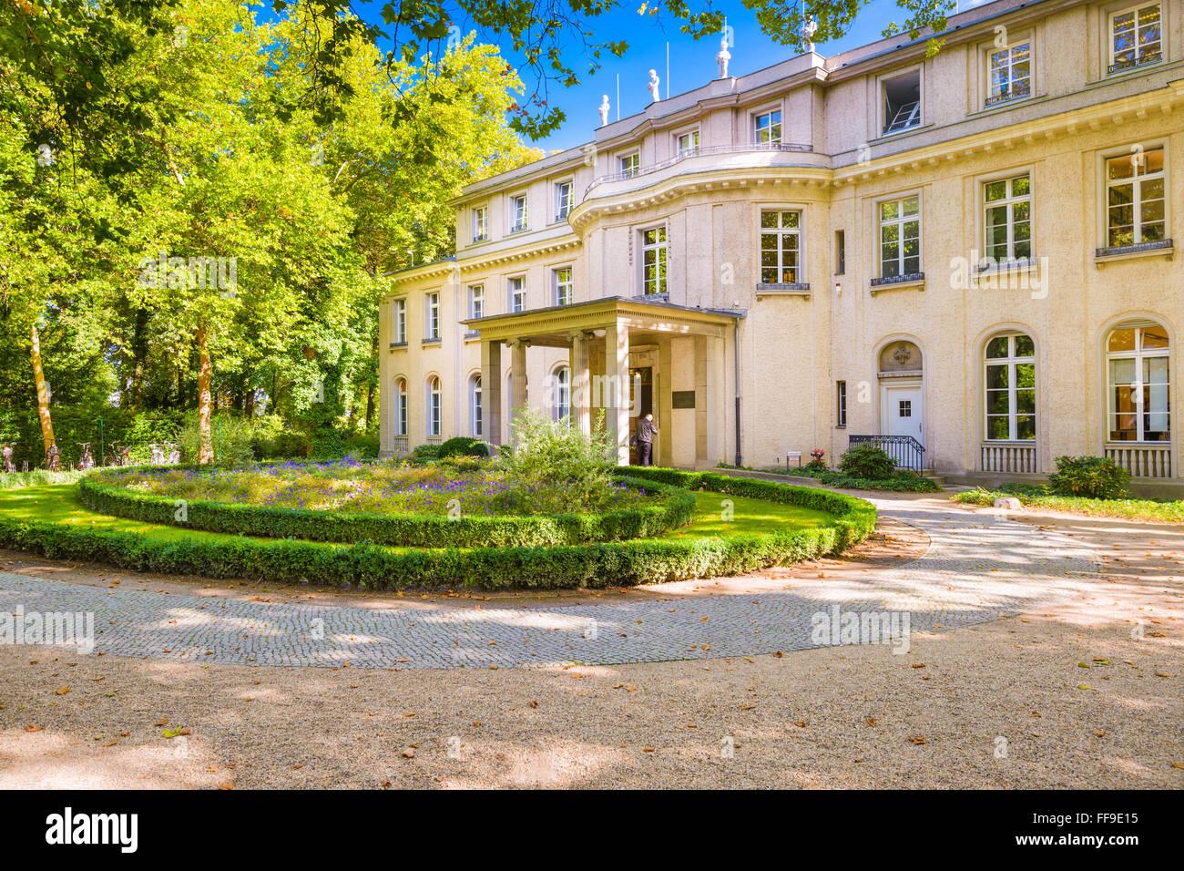 Le Wannsee à Berlin, Allemagne. Banque D'Images