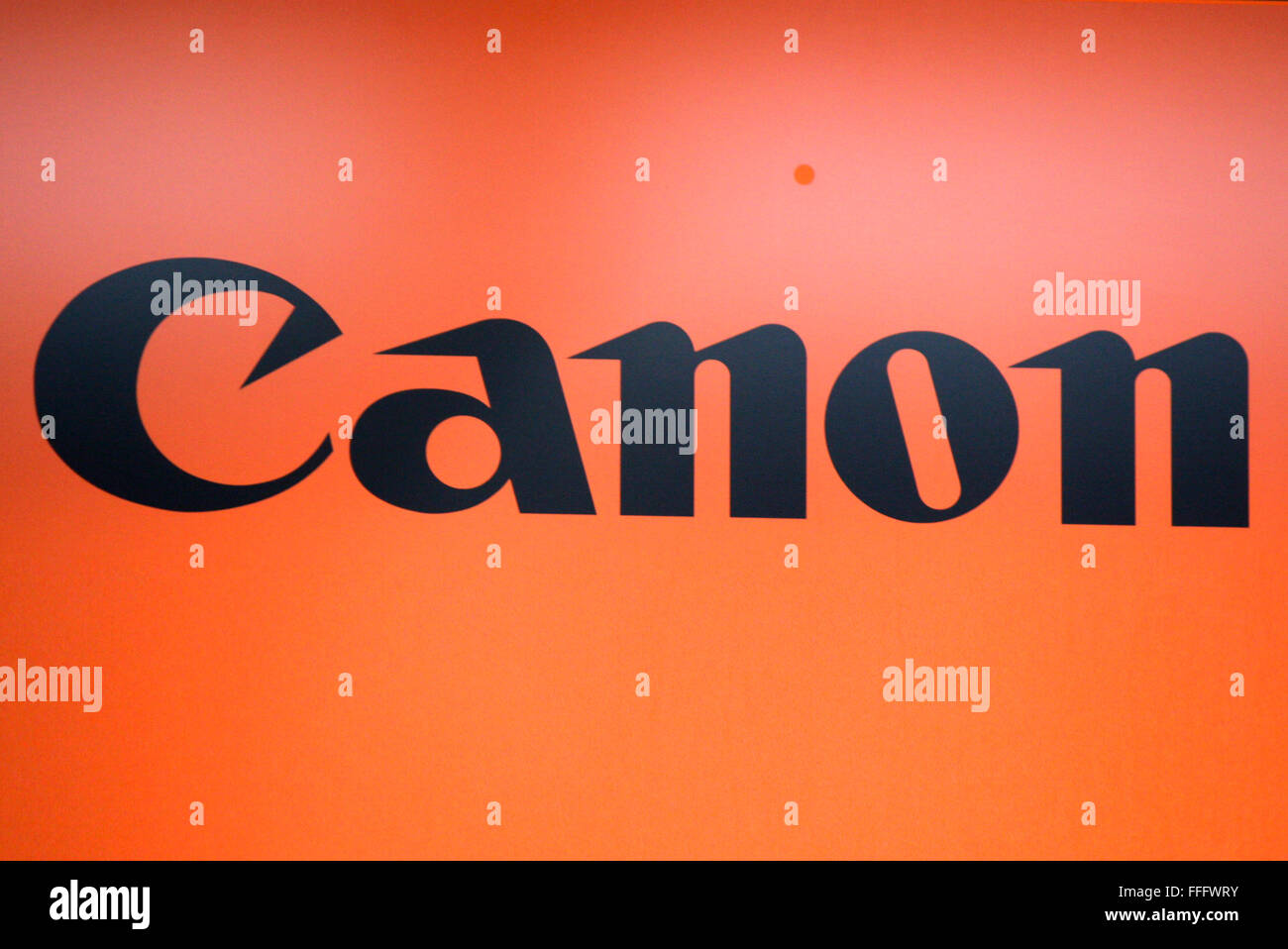 Markenname: 'Canon', Dezember 2013, Berlin. Banque D'Images