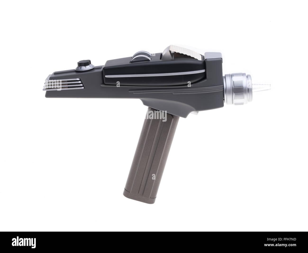 L'original de Star Trek phaser 1966 série télévisée arme capable de tuer ou d'étourdir Photo Stock