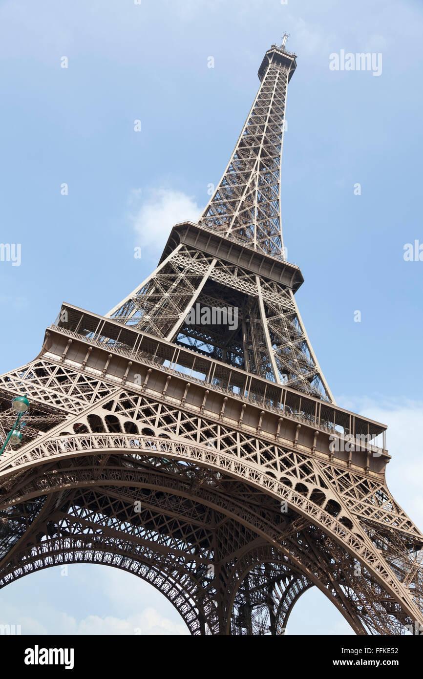 Tour Eiffel tower Paris France Photo Stock