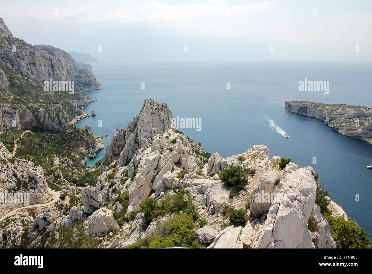 Géographie / voyages, France, les Calanques , Additional-Rights Clearance-Info-Not-Available- Photo Stock