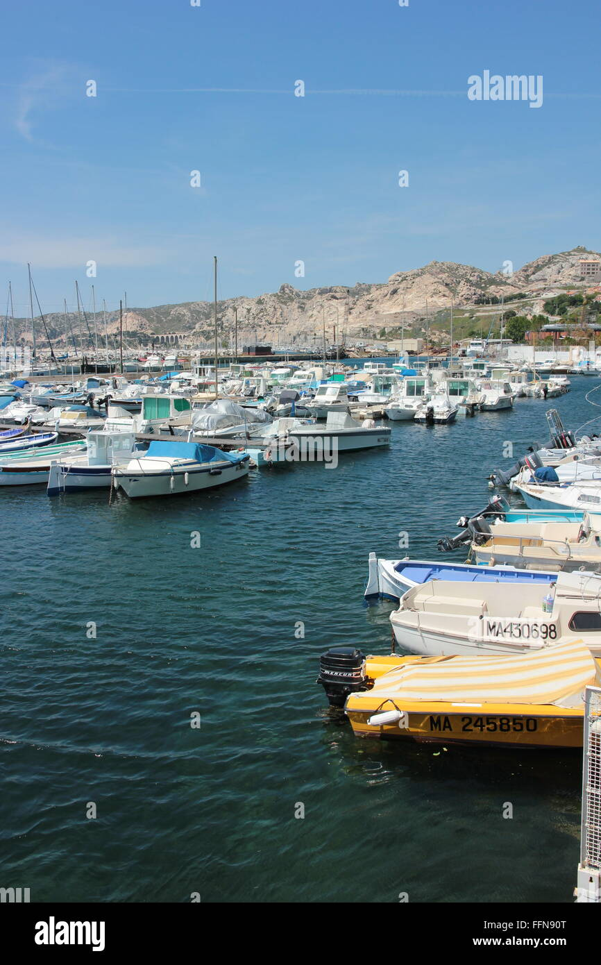 Géographie / voyages, la France, l'Estaque, , Additional-Rights Clearance-Info-Not-Available- Photo Stock