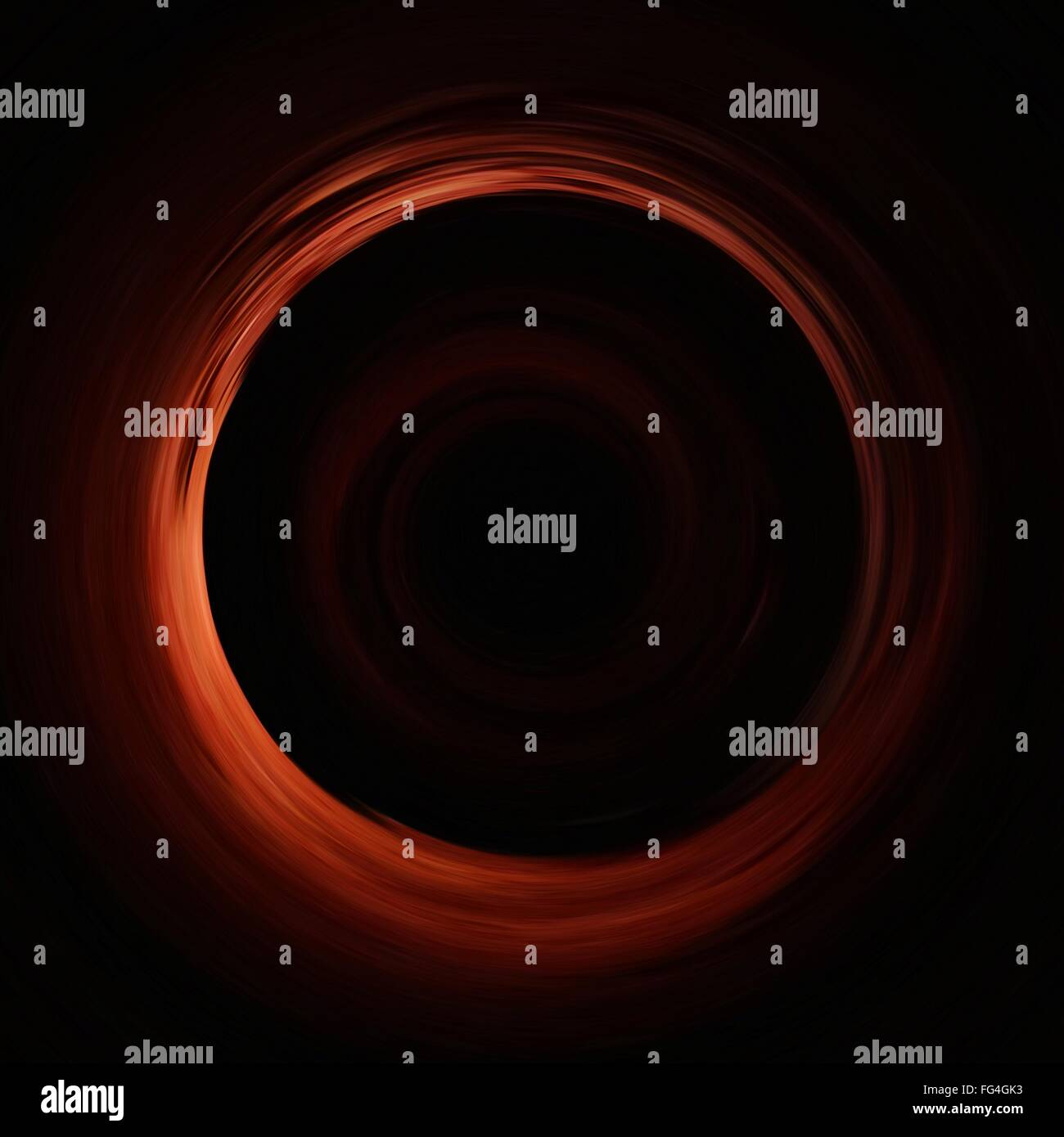 Portrait Of Abstract Circle Photo Stock
