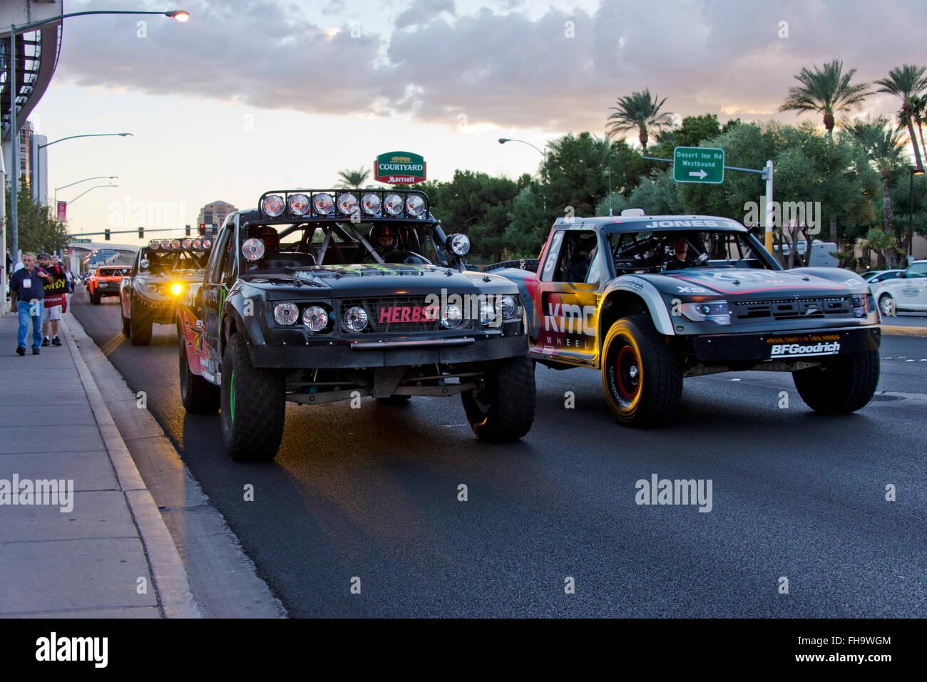 Camions SEMA Banque D'Images