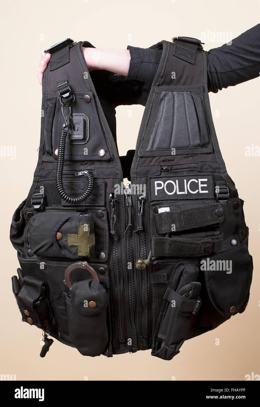 Veste tactique Police Photo Stock