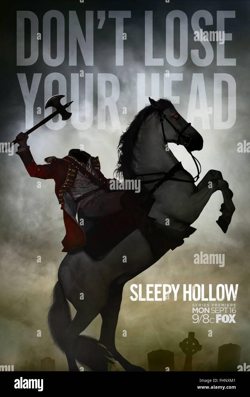 Cavalier sans tête de Sleepy Hollow L'AFFICHE: Saison 1 (2013) Photo Stock