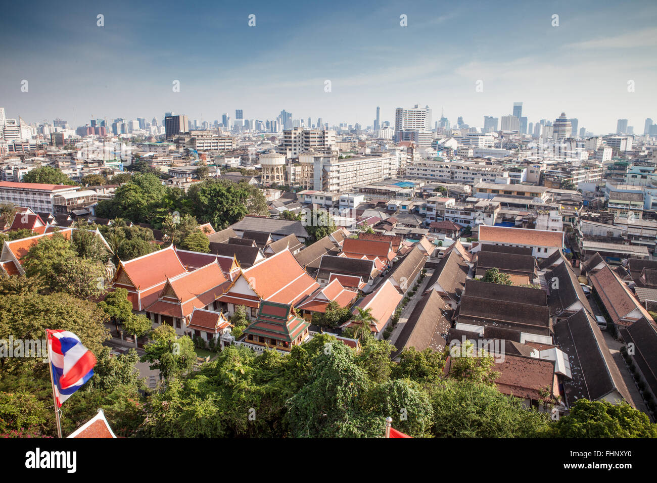 Vue de la ville de Bangkok Photo Stock