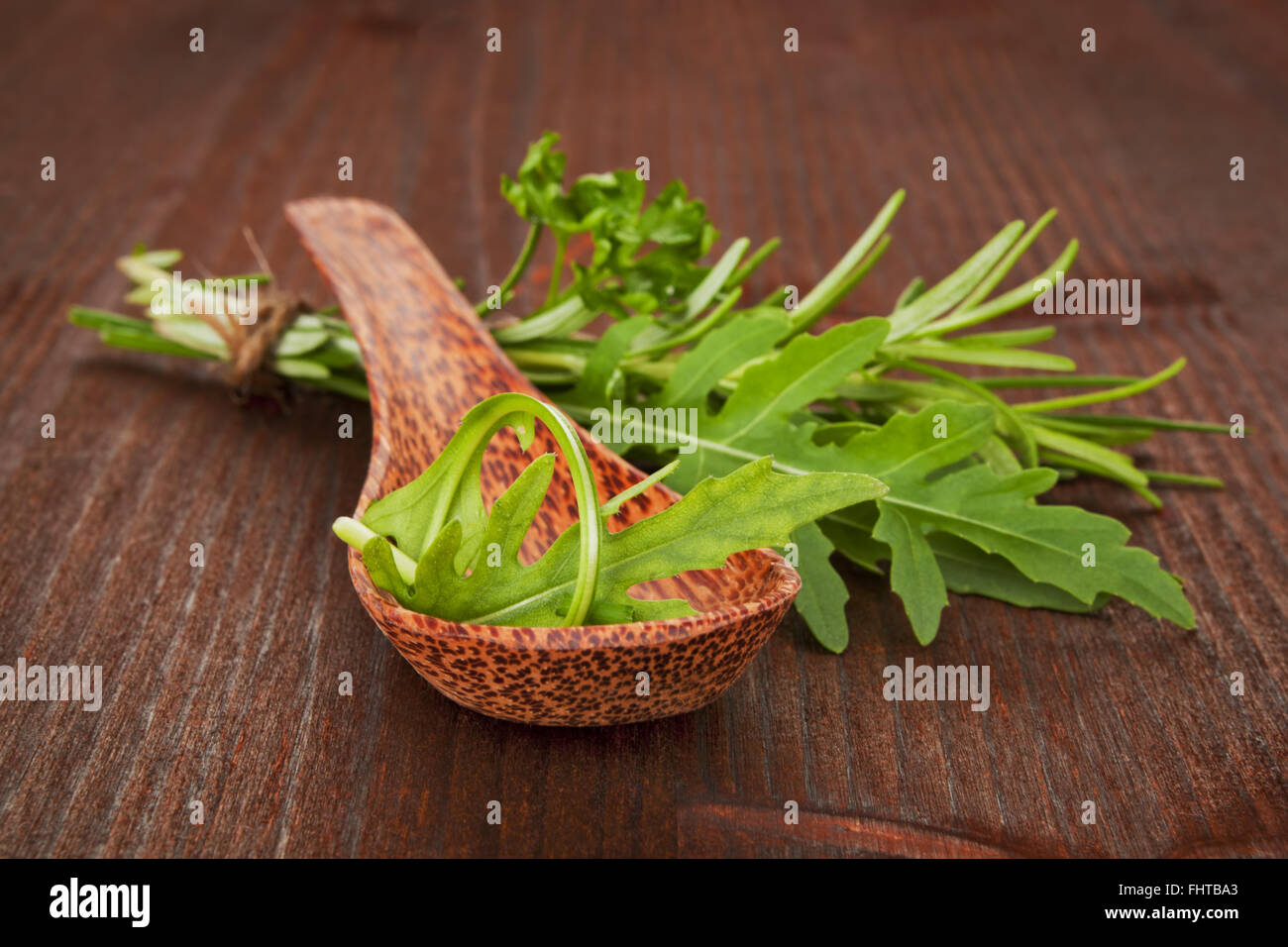 Variation des herbes culinaires. Photo Stock