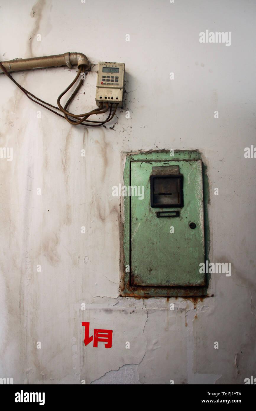 Objet et still life, province du Yunnan, Chine Photo Stock