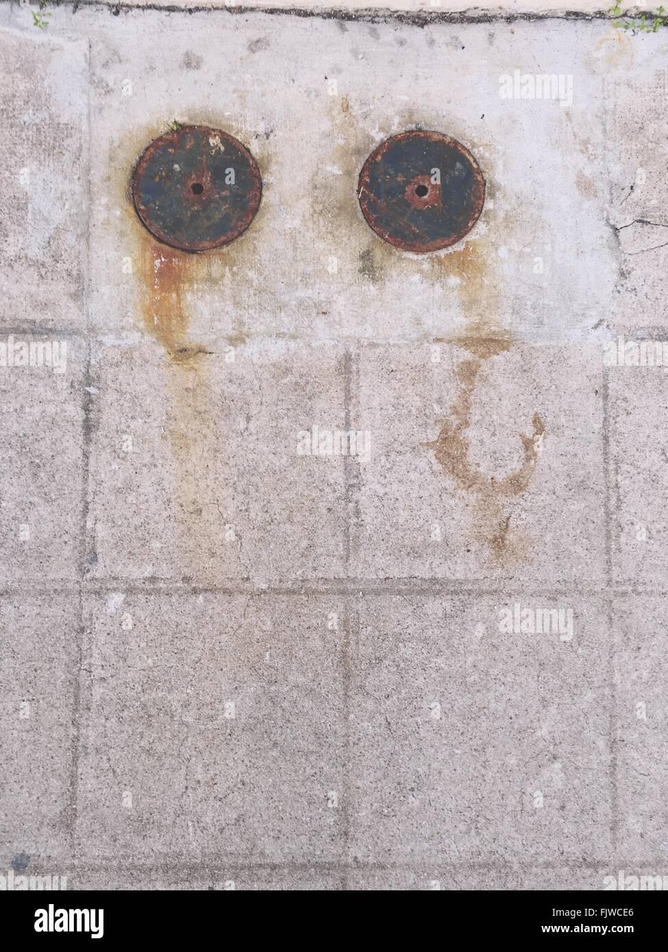 Portrait de sentier au parc Photo Stock