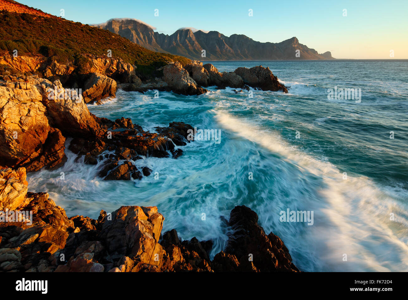Kogel Bay, Western Cape, Afrique du Sud Photo Stock