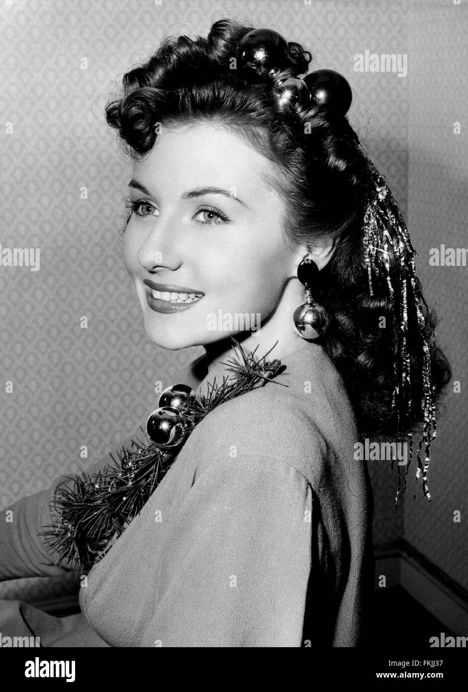 Portrait de Rhonda Fleming Photo Stock