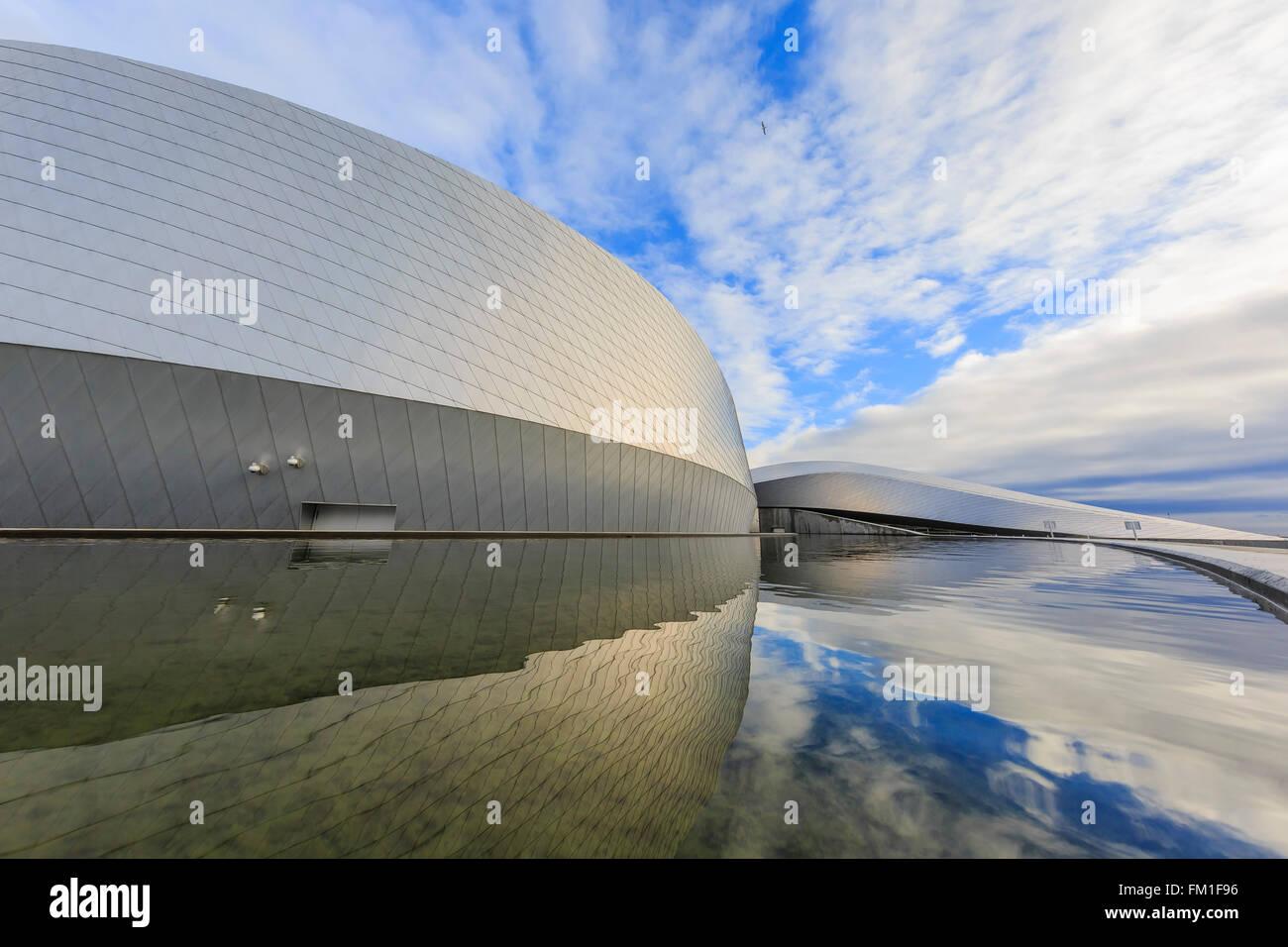 Le célèbre Aquarium National Danemark de Copenhague à matin Photo Stock