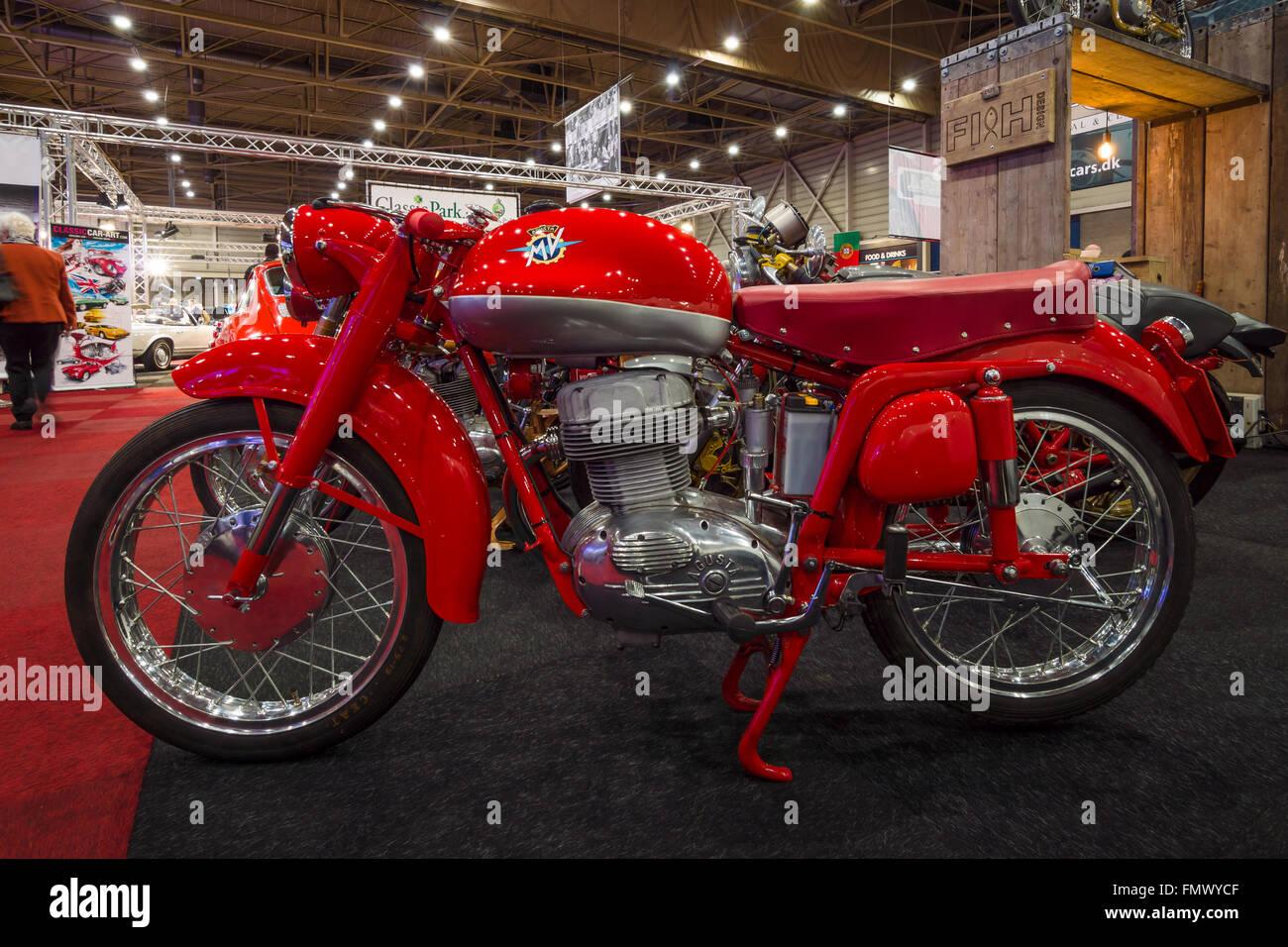 MV Agusta moto rétro. Banque D'Images