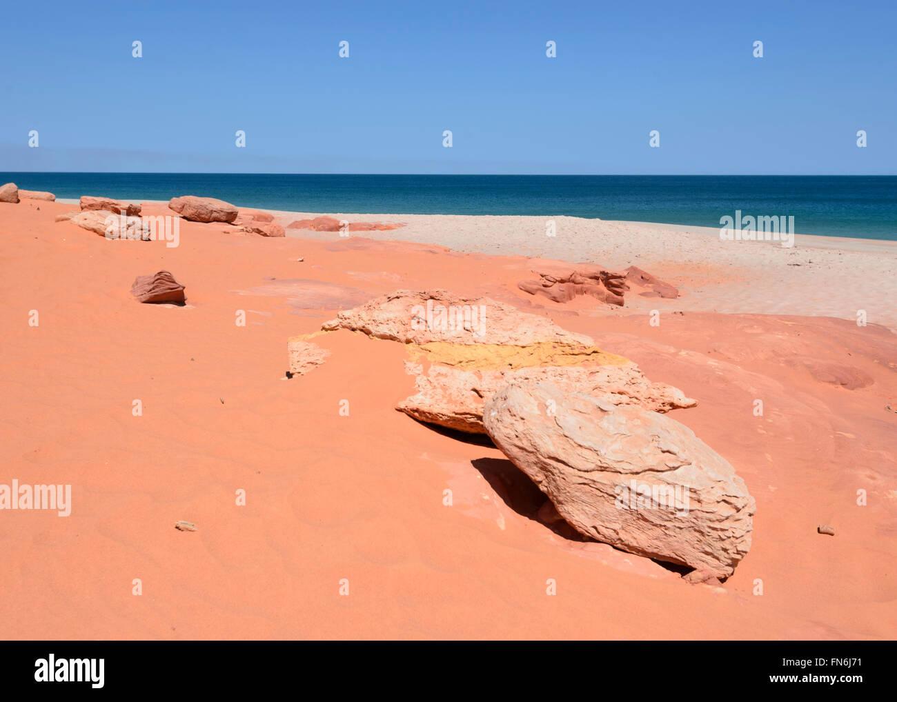 Cape Leveque, péninsule Dampier, région de Kimberley, en Australie occidentale, WA, Australia Banque D'Images