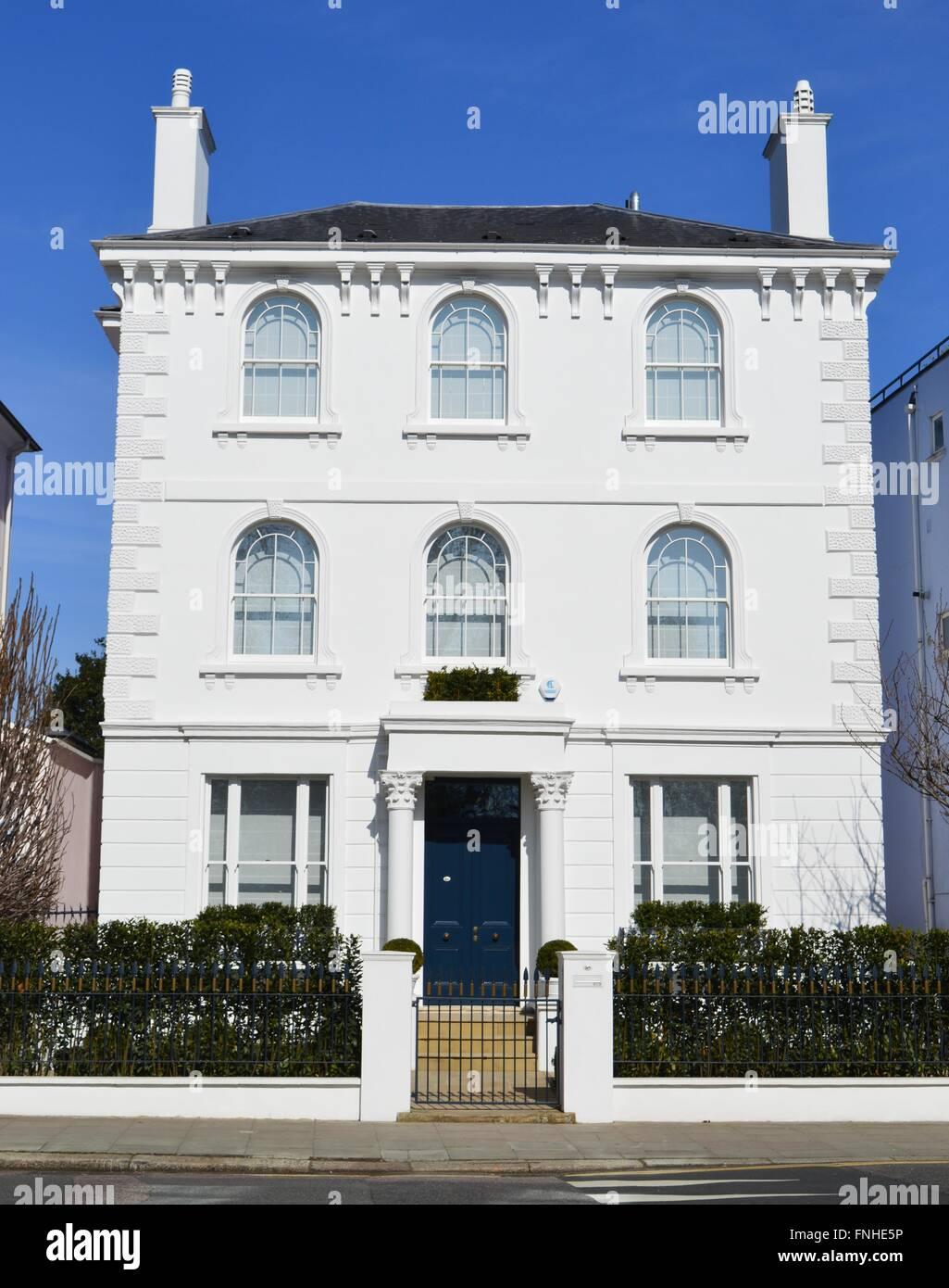 grande et belle blanc double faade maison victorienne primrose hill london uk une maison de rve le premier bien immobilier