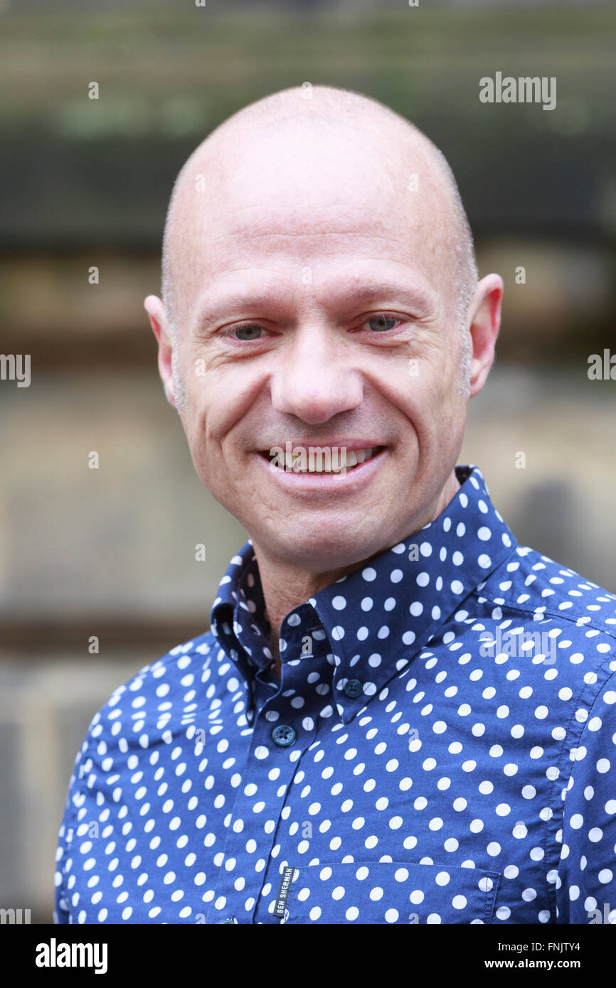 Edinburgh, Royaume-Uni. 16h Mars. La Jordanie a lancé Noel Directeur du Festival de théâtre pour Photo Stock