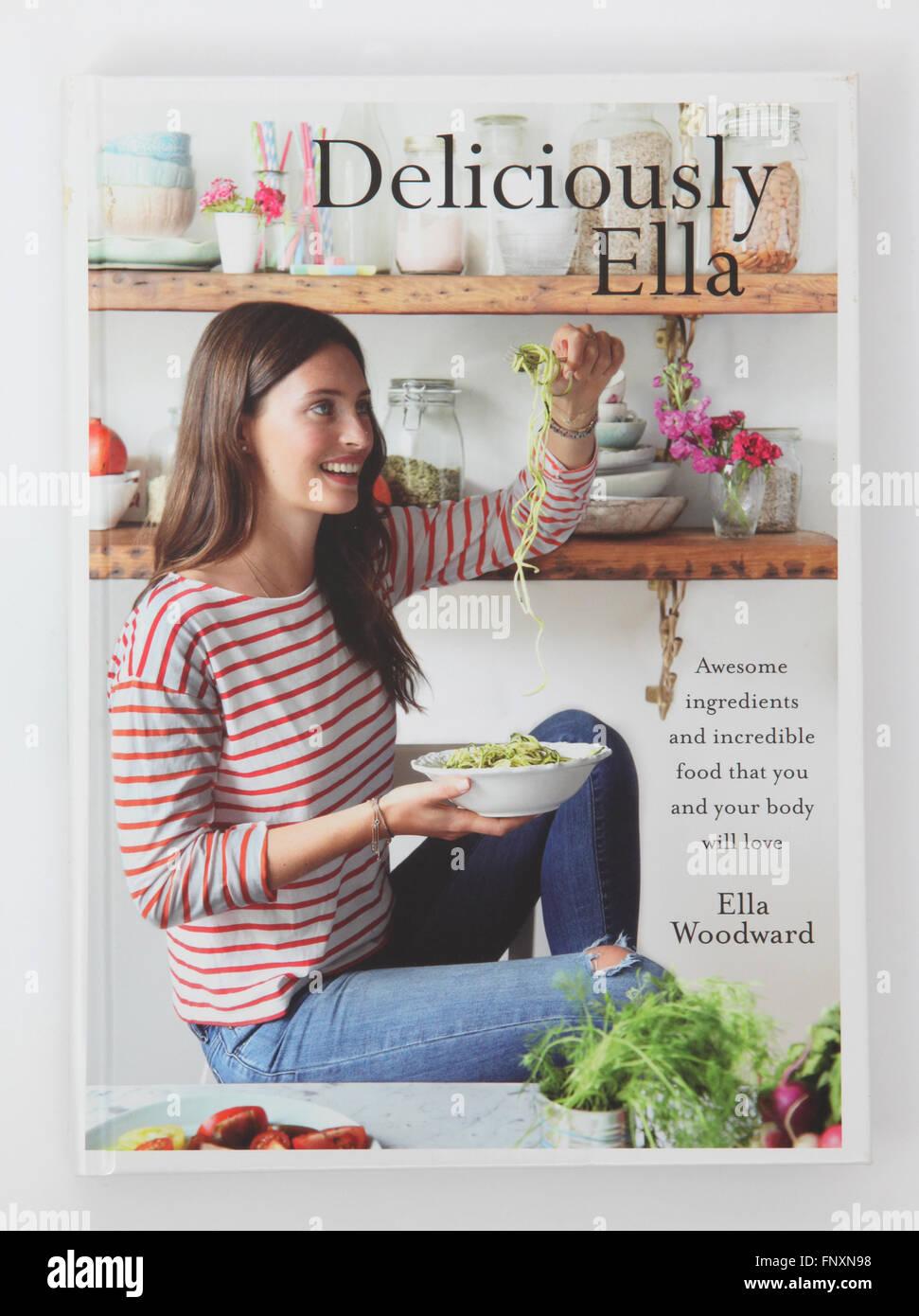 Le livre de recettes - par Ella Ella délicieusement Woodward Photo Stock