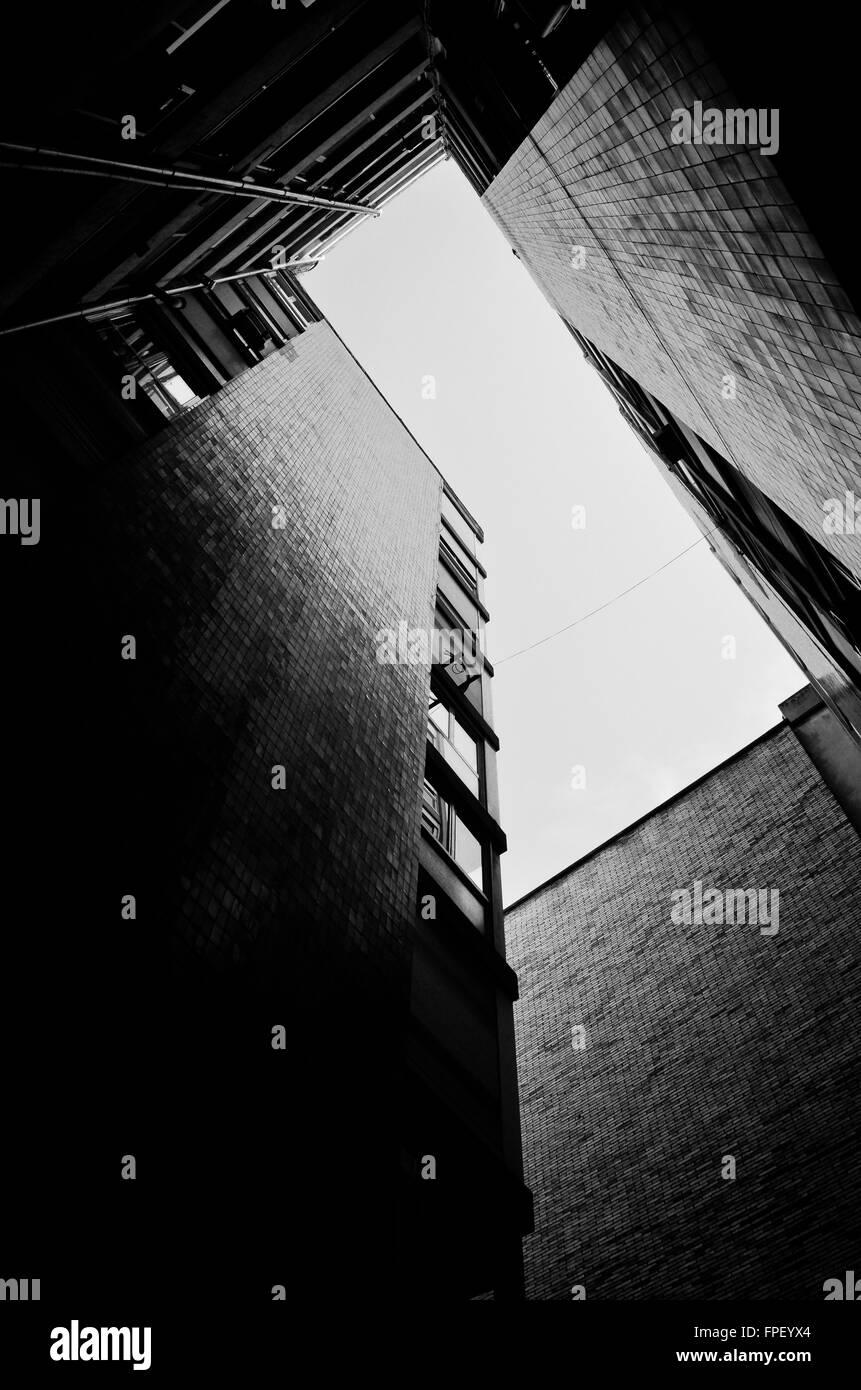 Les immeubles à appartements. Photo Stock