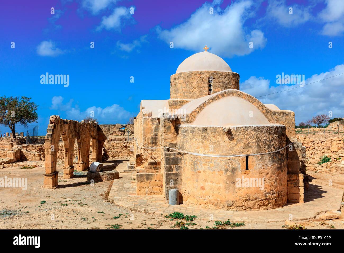 Ancienne église de Panagia Odigitria '' (la Vierge Marie) Directeurs à Chypre. Photo Stock