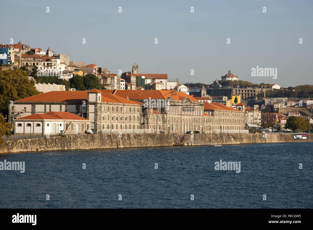 De nouvelles coutumes d'Oporto - Musée des Transports et des Communications Photo Stock