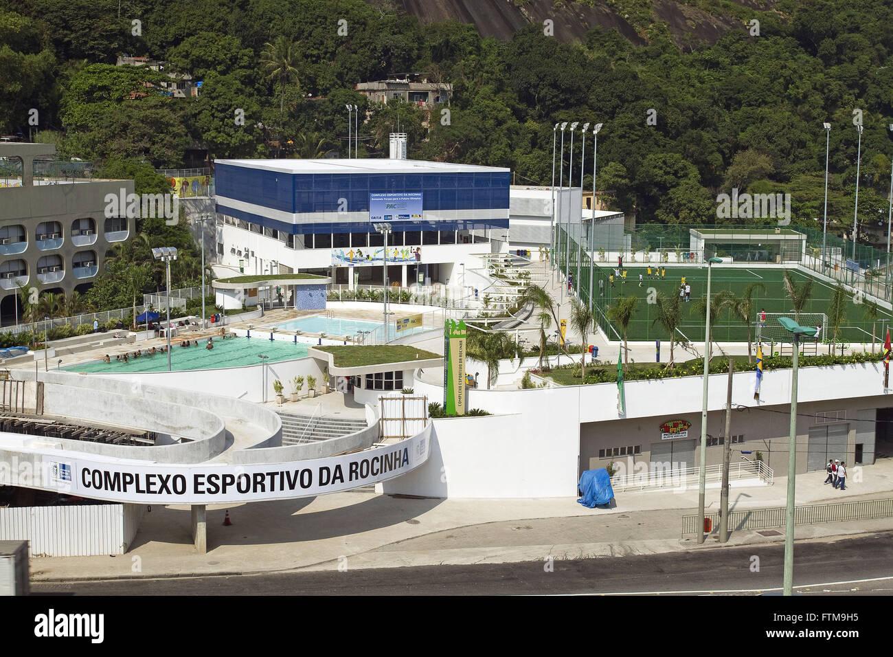 Rocinha Rio de Janeiro Sports Complex Photo Stock