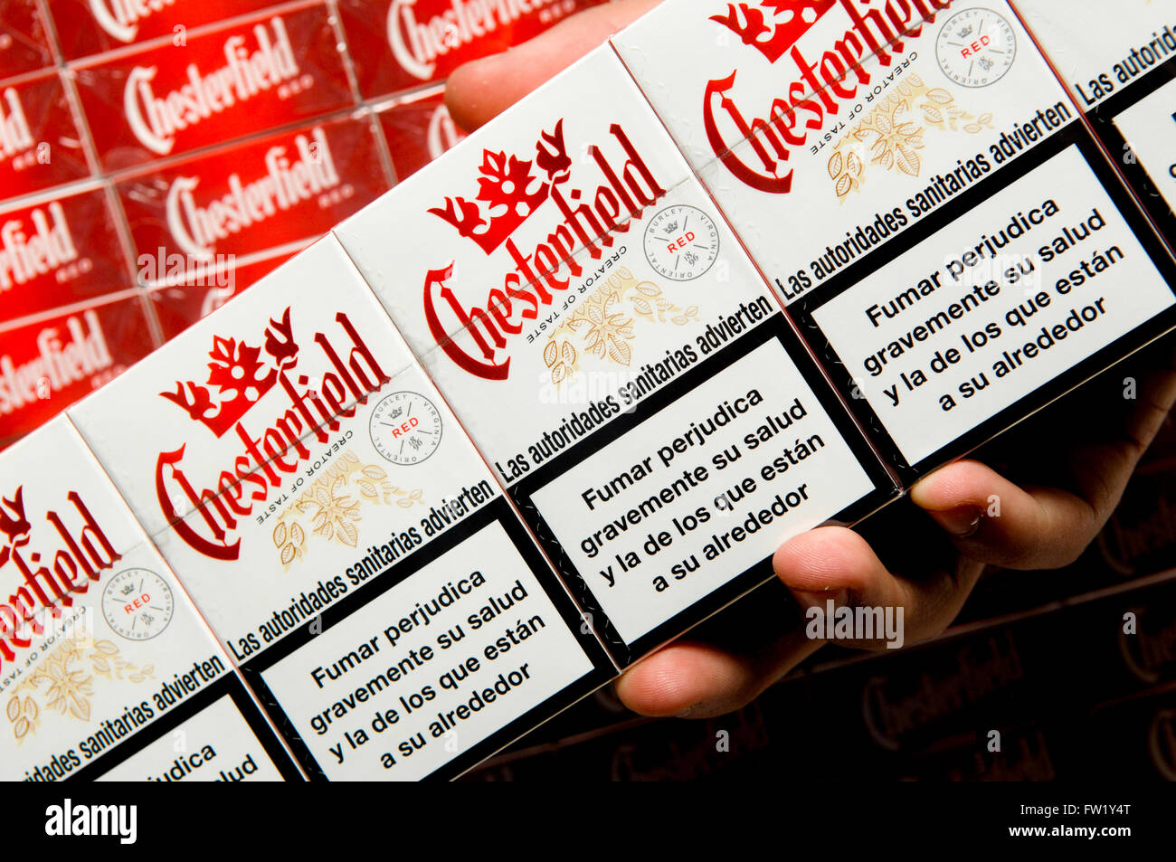 chesterfield cigarette photos chesterfield cigarette images alamy. Black Bedroom Furniture Sets. Home Design Ideas