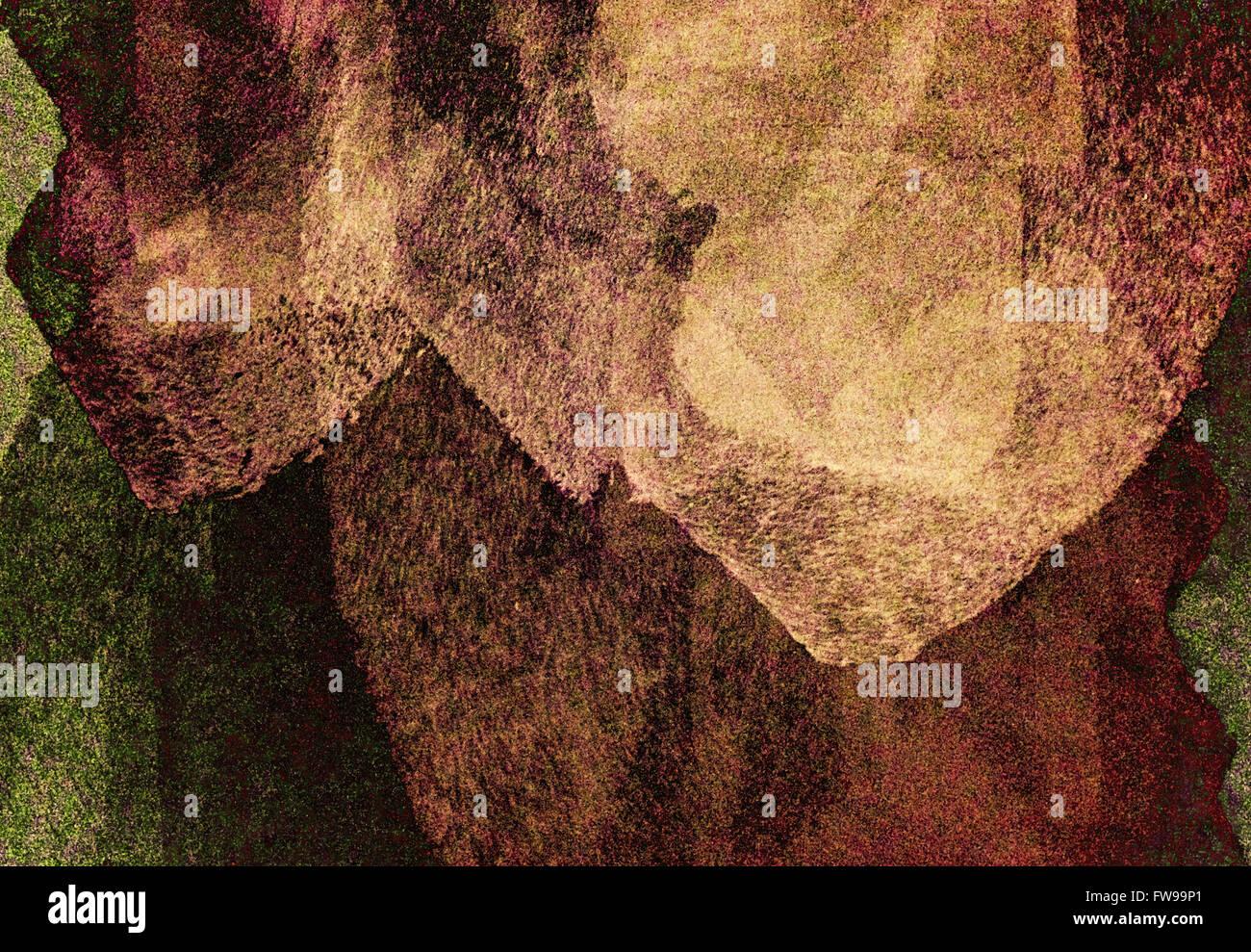 Design graphique abstrait moderne art numérique creative concept Photo Stock