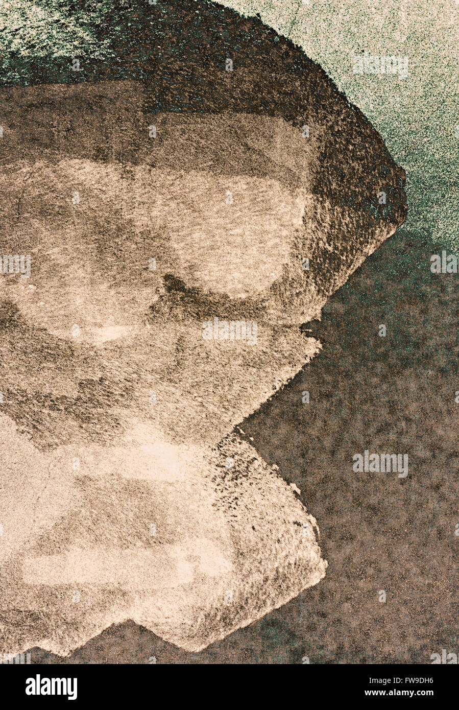 Modern abstract graphic design digital art concept créatif Photo Stock