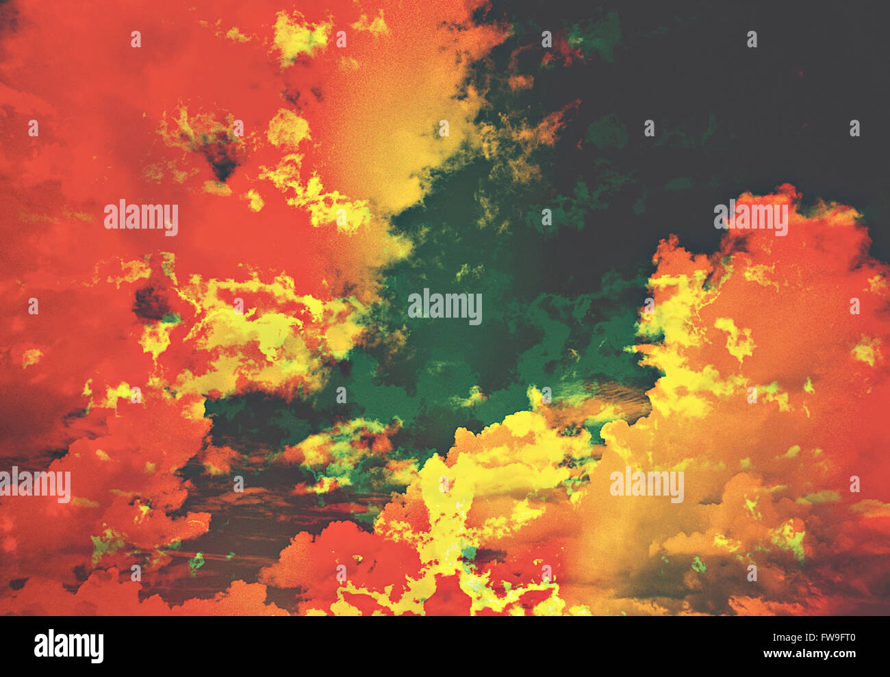 Modern abstract graphic design digital art concept créatif Photo Stock