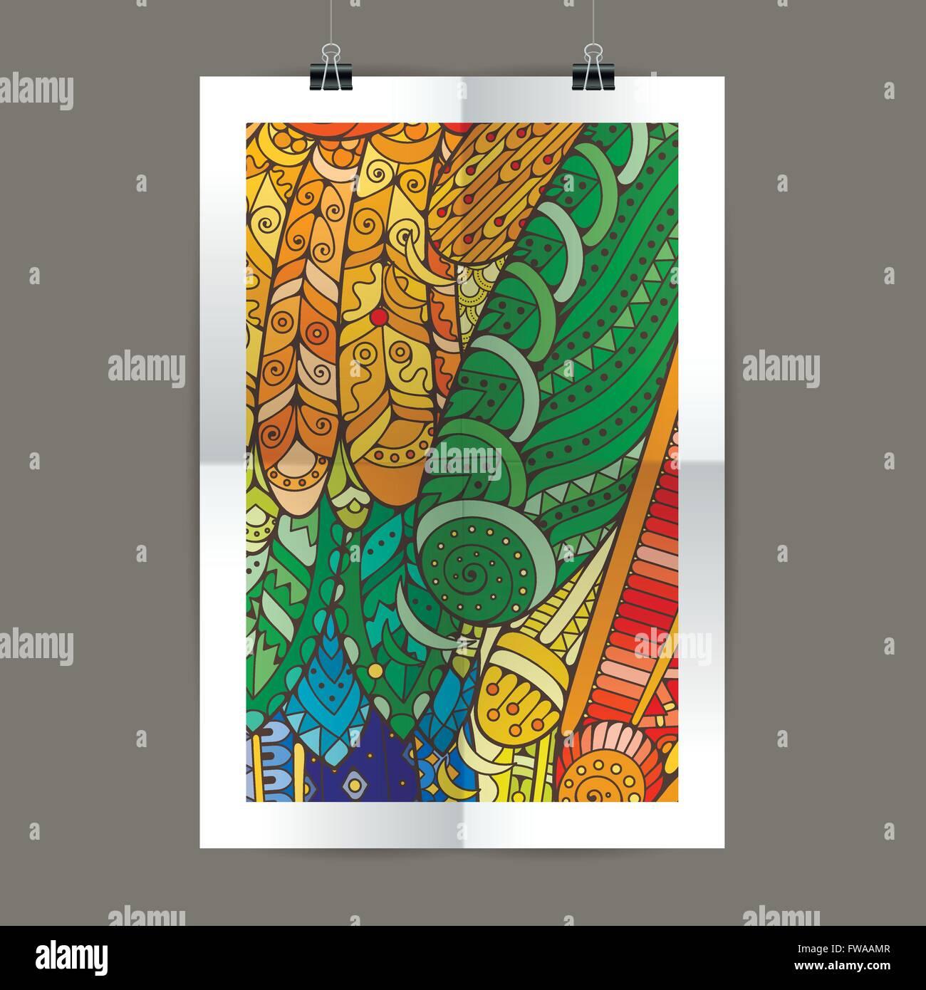 Présentation élégante De Couverture De Magazine Poster