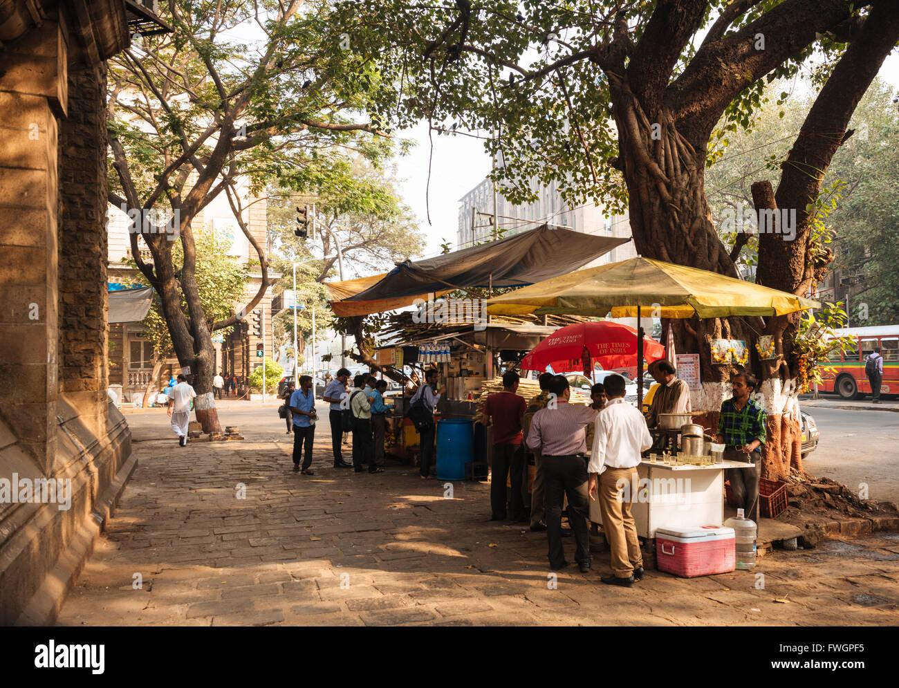 Blocage de Chai, Mumbai (Bombay), en Inde, en Asie du Sud Photo Stock