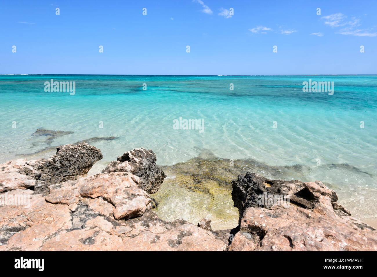 La côte de Ningaloo, patrimoine mondial, Western Australia, Australia Photo Stock